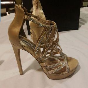 Steve Madden rhinestone heels